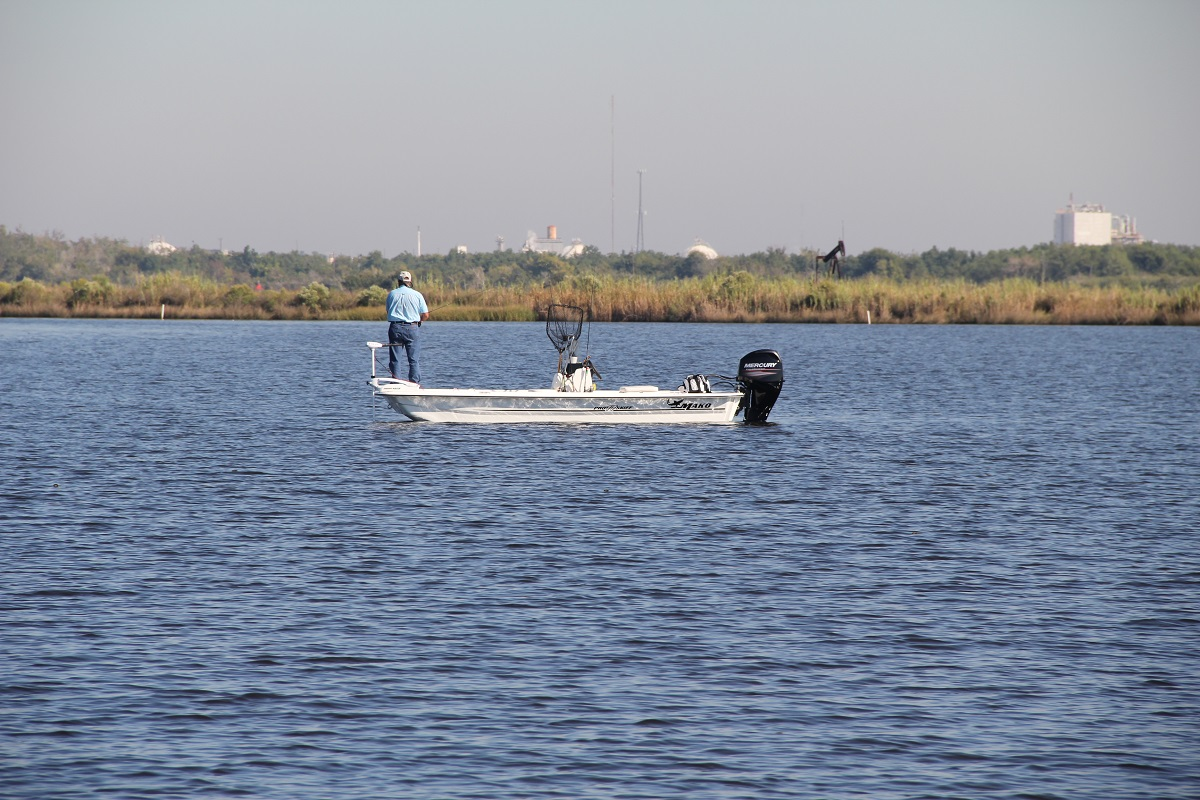 The Trustees are studying the impacts to recreational fishing which has been limited in Bayou d'Inde since 1987 and the Calcasieu since 1992.