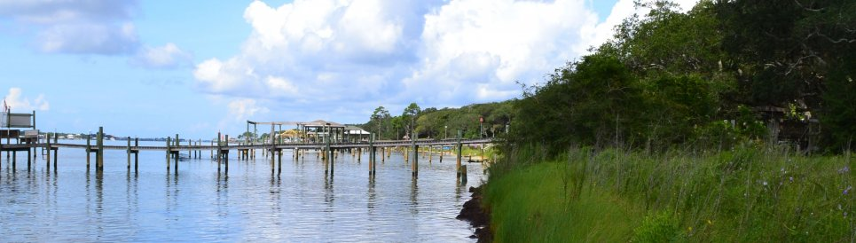 Florida coastline.