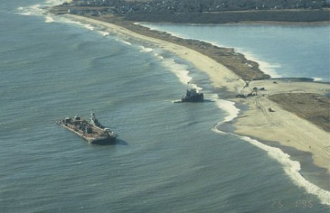 In 1996, the tank barge North Cape and the tugboat Sandia grounded off the coast of Rhode Island resulting the worst oil spill in the state's history.