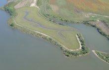 Wetland restored as part of the Chalk Point Oil spill settlement.