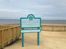The Raritan Bay Slag site adversely impacts the Old Bridge Waterfront Park in Laurence Harbor, NJ.