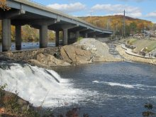 Tingue Dam bypass in Seymour, Connecticut.