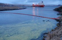 NOAA responds to pollution events such as this oil spill in Adak, Alaska that took place in 2010. Through restoration we bring the natural resources to the condition they would have been in had the pollution not occurred.