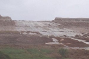 Phosphogypsum stack breach released acidic, nutrient-rich water into surrounding wetlands and waterways.